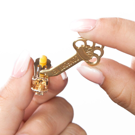 Clip-On Earring Tension Key Adjuster