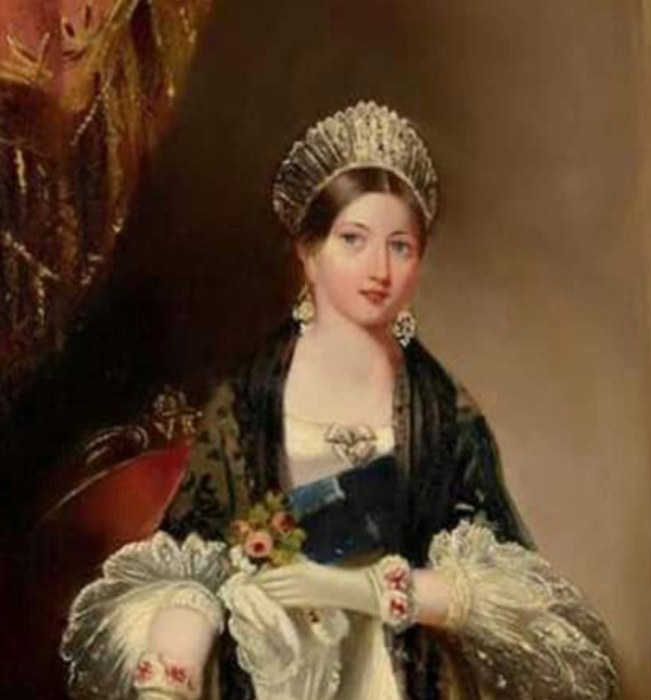Young Queen Victoria Portrait