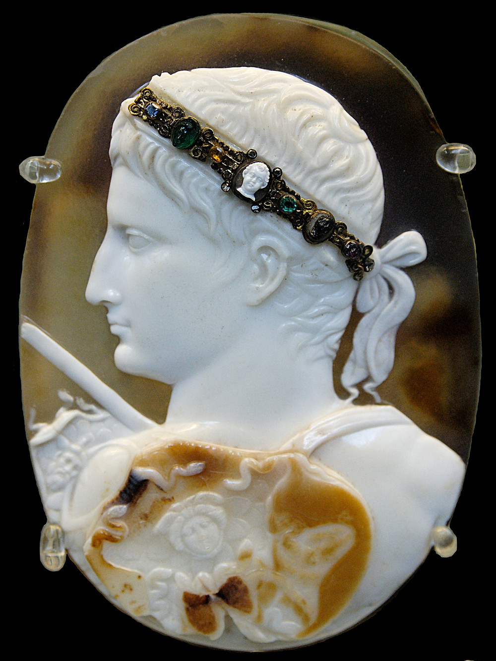 Sardonyx Cameo of Emperor Augustus