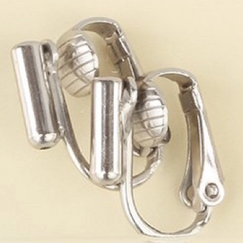 Silver Pierced to Clip-On Earring Converter