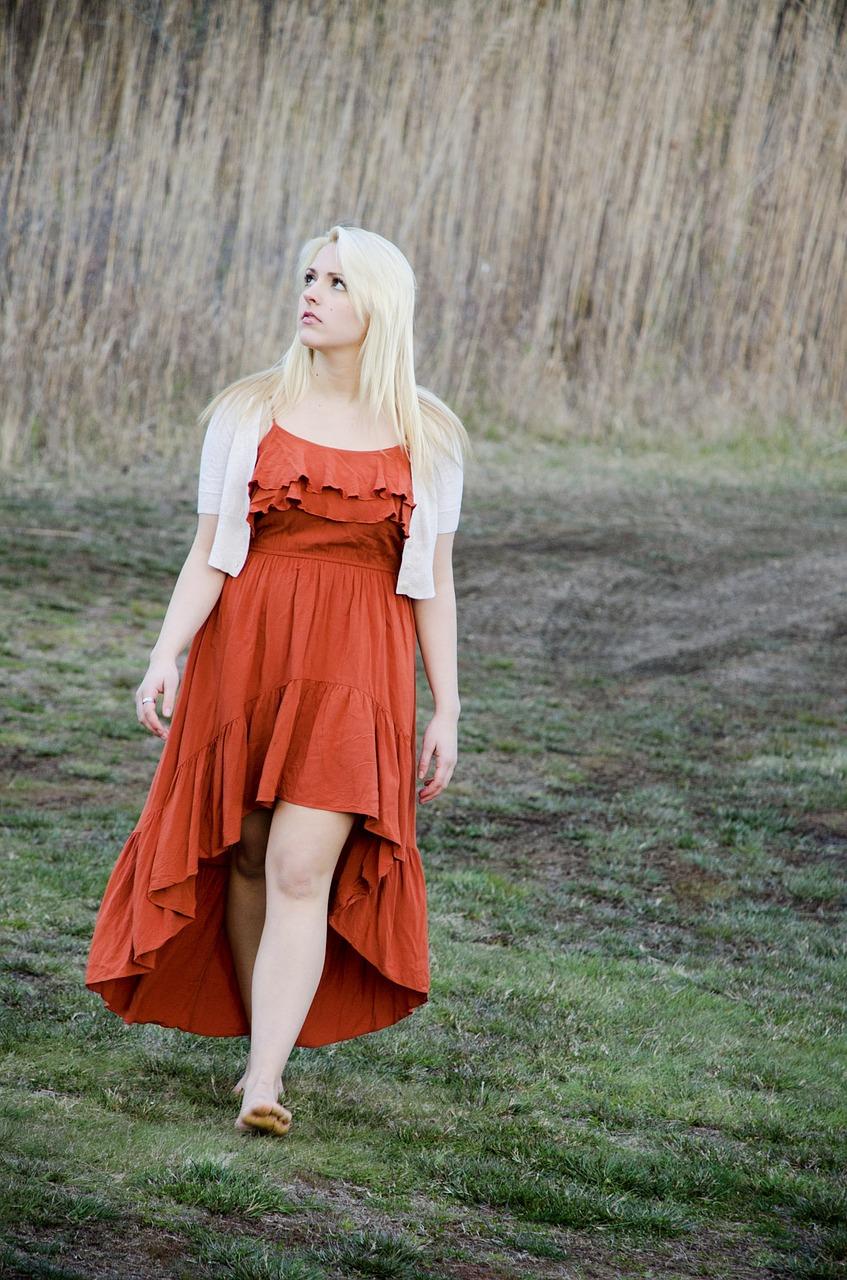 Rich Terracotta Dress