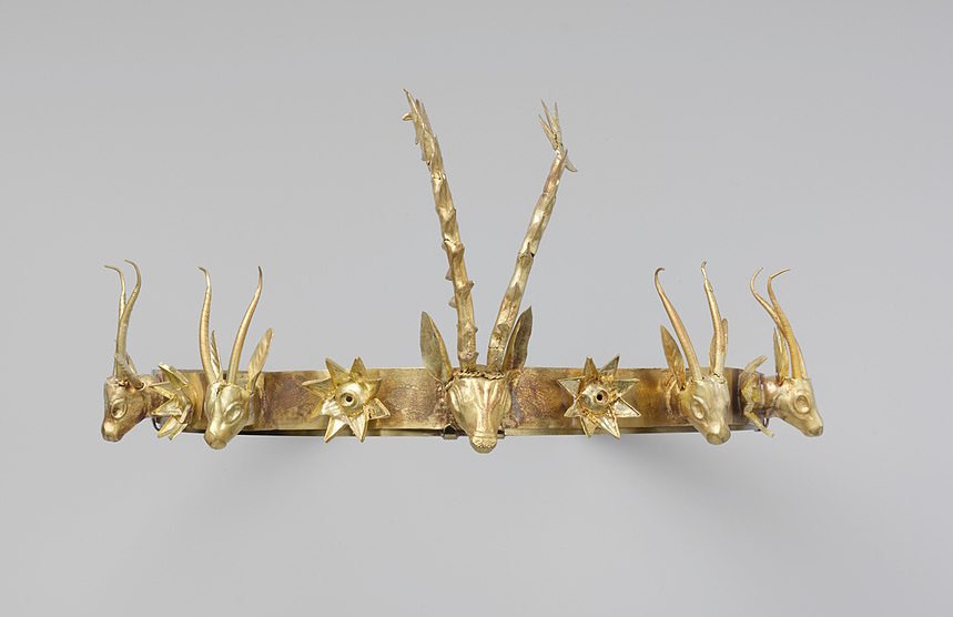 Ancient Egyptian Gold Headband, c1600BCE