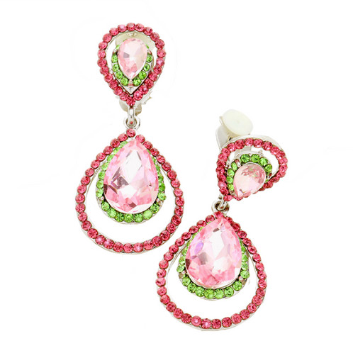 jewellery pearl earrings earring camellia merrichase flower grande crystal camelia clip on products