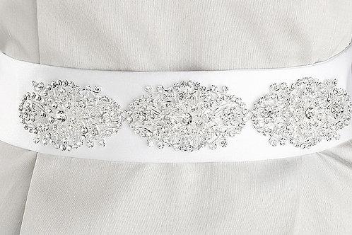 Filigree Crystal Bridal Belt