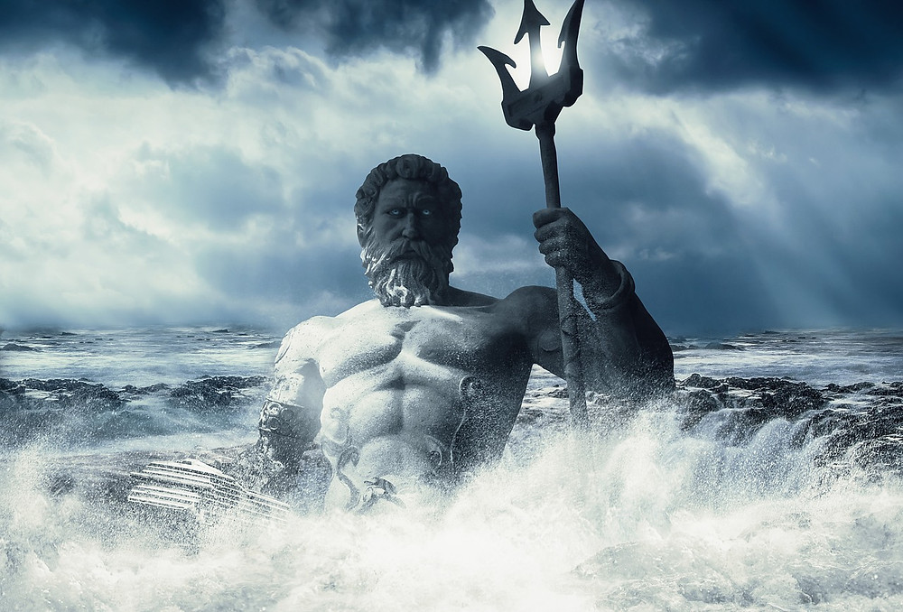 Poseidon Neptune God of the Sea