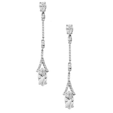 Linear Sparkle Earrings