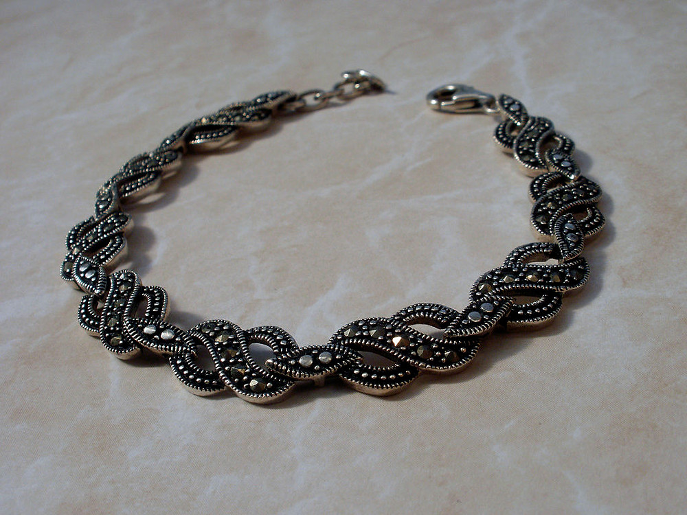 Marcasite Pyrite Bracelet