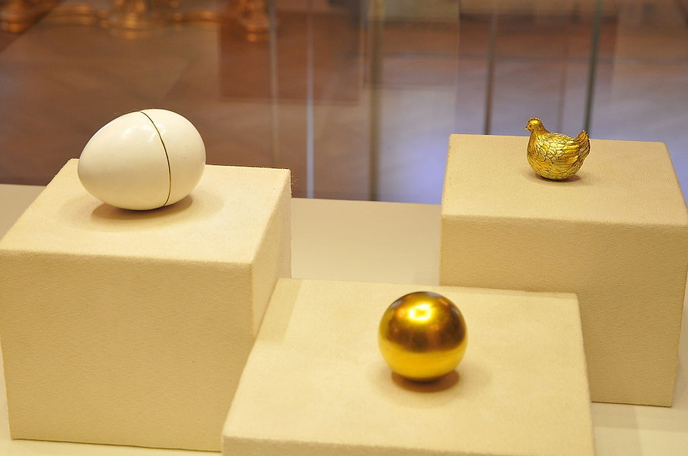 The First Fabergé Egg