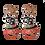 Jack-o-Lantern Halloween Pumpkin Mini Clip Earrings