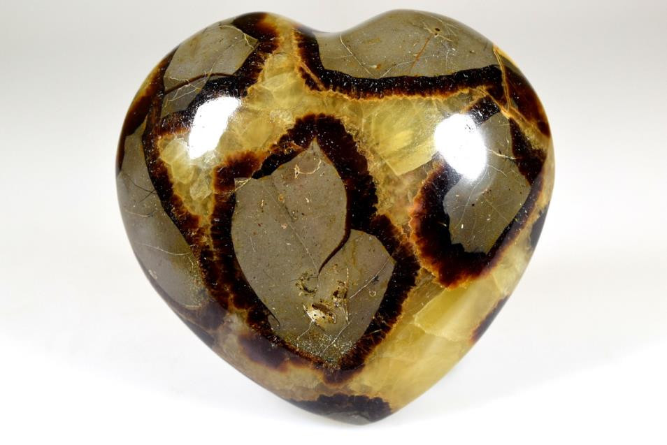 Septarian Heart from Madagascan Direct