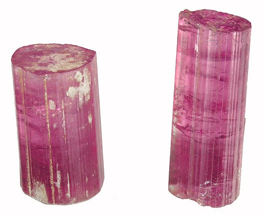 Raw Pink Tourmaline Crystals