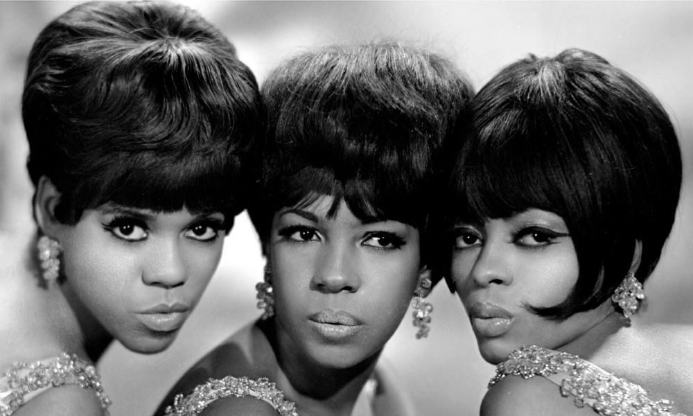 Diana Ross and the Supremes in Flashy Crystal Earrings