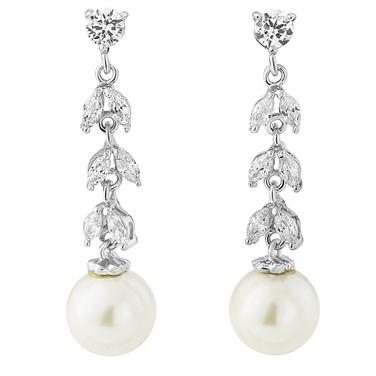 Pearl Vine Earrings