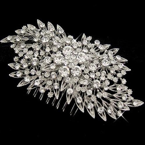 Bridal Extravagant Crystal Hair Comb