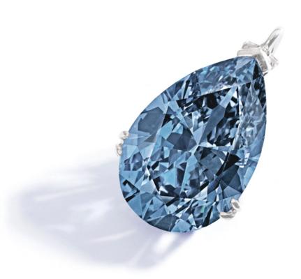 9.75 carat Blue Fancy Diamond 'Zoe'
