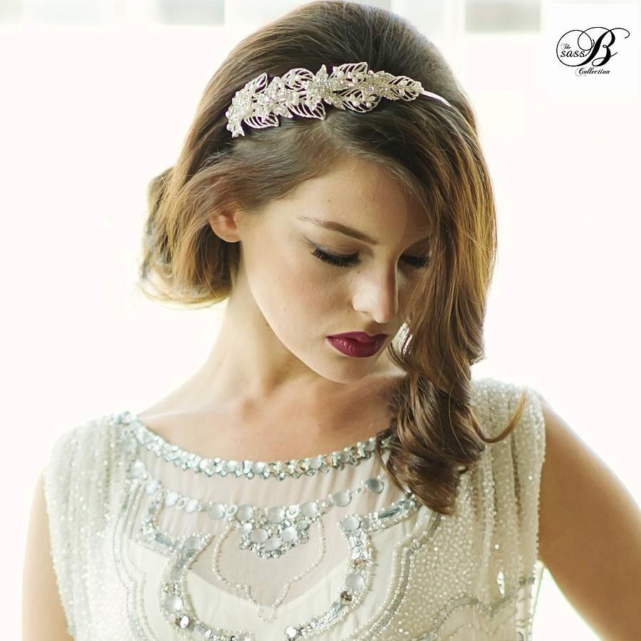 Sass B Designer Bridal Headband from Our Range