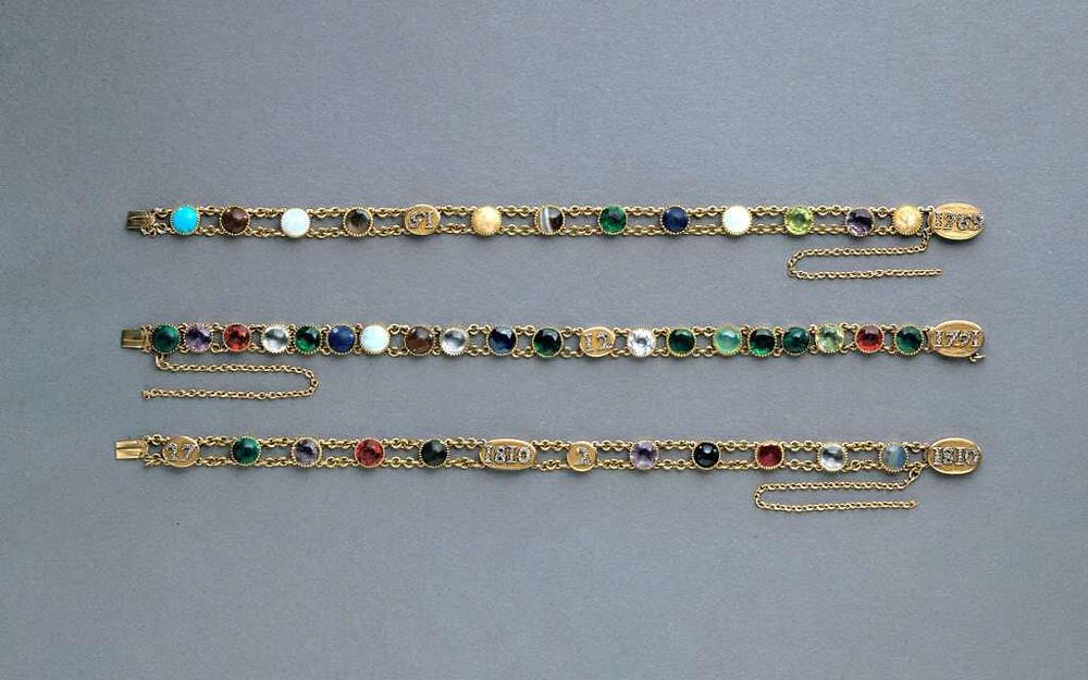 Napoleon's Acrostic Bracelets