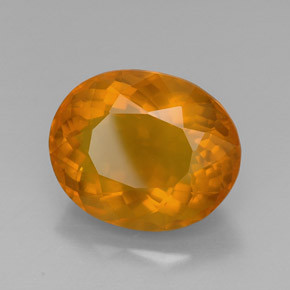 Faceted Honey Opal