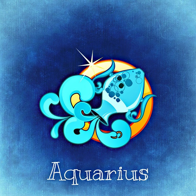 Aquarius Water Carrier Zodiac Symbol
