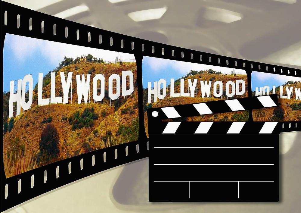 Hollywood Film Banner