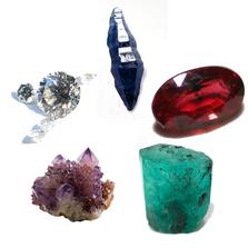 The Major Gemstones   The Cardinal Gemstones