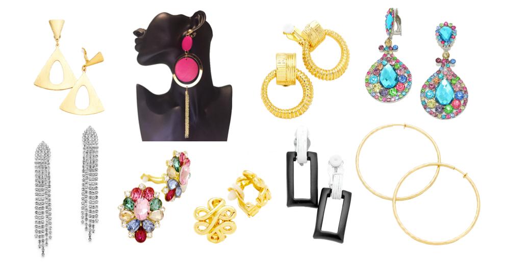 Retro 80s Earring Styles from Alyssum Jewellery