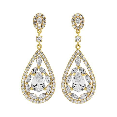 Mosaic Pear Drop Earrings