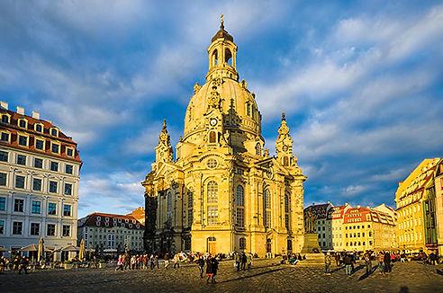 Frauenkirche im Abendlicht, Dresden - 62