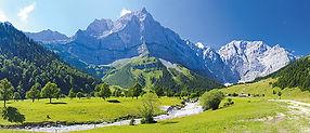 Panorama Landschaft in Bayern 66348281 ©