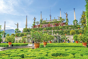 Gartenterrasse Isola Bella Boromäische I