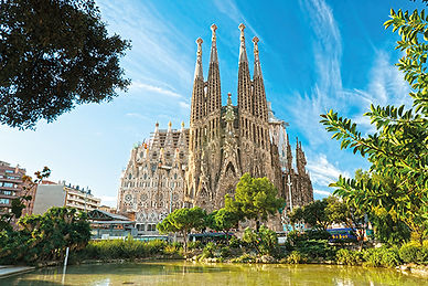 La Sagrada Familia, Barcelona, spain - 4