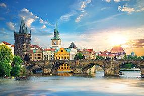 The_Charles_Bridge_in_Prague_at_summer_d