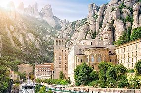 Montserrat_Monastery,_Catalonia,_Spain._