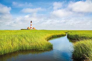 Westerheversand lighthouse, North Sea, S
