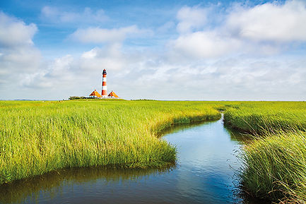Westerheversand lighthouse, North Sea, S