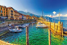 Hafen und Promenade von Cannobio am Lago