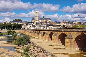 Nevers - Nevers in Burgundy, cathedral a