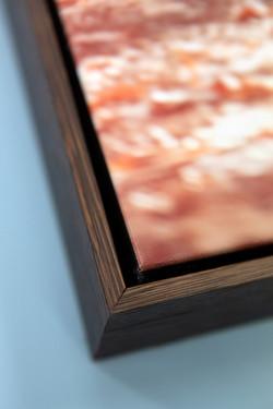 Canvas Boxed w/ Dark Oak close up
