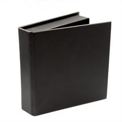 USB Box In Black Leather Like