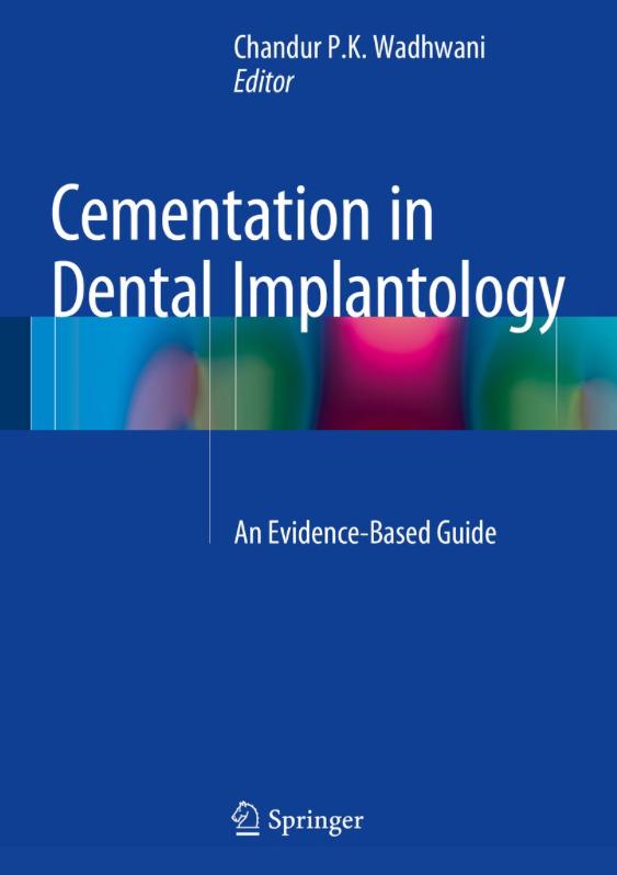 Cementation in Dental Implantology