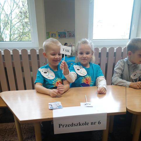 Reprezentanci przedszkola w Przedszkolu nr 4