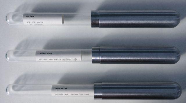 Antarctic Message Cylinders