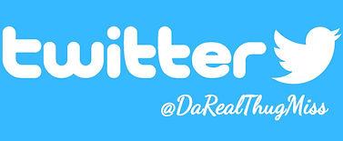 Thug Misses darealthugmiss twitter handle logo blue tweet female rapper west coast bay area vallejo camille 707 anthem yfn 99 u aint 1 the cypher braids latina black mix blaxican lightskin woman hip hop