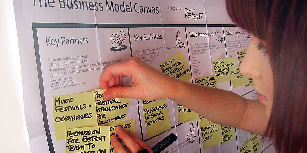 Make your own Lean Business Model Canvas!