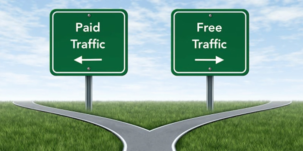Paid traffic vs free traffic - what's better and why?