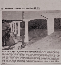 Article Savannah River US29 in 1956