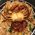 Soft Shell Crab Fried Rice
