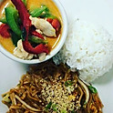 Combo 1 Pad Thai | Pumpkin Red Curry with Chicken