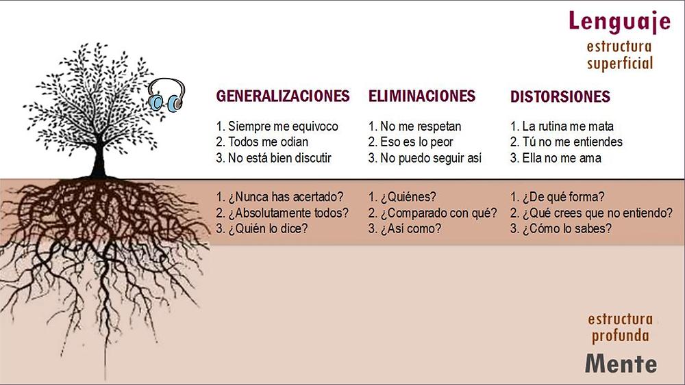 generalizaciones eliminaciones distorsiones