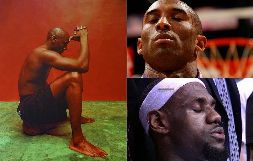 deportistas que meditan